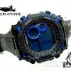 นาฬิกา US submarine TP1330M ดำ-น้ำเงิน