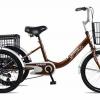 จักรยานสามล้อ 20นิ้ว UMEKO TRIVELO พร้อมตะกร้าหน้าและหลัง ไม่มีเกียร์