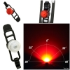 CAT EYE ไฟกระพริบแคทอาย LOOP2 RC, SL-LD140RCFR, USB, หน้า/หลัง, สีแดง/สีขาว