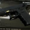 ปืน BBgun แบรนด์ WE Glock G18 ไต้หวัน Auto ยิงรัวได้