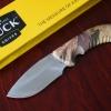 มีดใบตาย BUCK 390 ด้ามลายพราง 440C Steel Blade Camping (OEM)