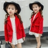 เสื้อแจ็คเก็ตแขนยาวสีแดง แพ็ค 5 ชิ้น [size 2y-3y-4y-5y-6y]