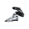สับจาน DEORE, FD-M6020-H, 2X10-SPD, 34-38T, แคล้มป์บน, Side swing, 34.9MM/31.8MM