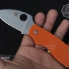 มีดพับ Spyderco Lady Bug ด้ามสีส้ม มีดพกน่ารัก คมกริบ ขนาด 6 นิ้ว (OEM)