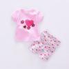 ชุดเซตลายหัวใจสีชมพู [size 6m-9m-18m-2y]