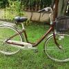 จักรยานแม่บ้านญี่ปุ่นมือสอง+พร้อมตะกร้าพลาสติก
