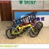 จักรยานพับได้ MASCOT ,QJ007 เฟรมเหล็ก 7 สปีด พร้อมตะแกรงหลังและบังโคลน
