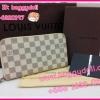 Louis Vuitton Azur Damier Zippy Compact Wallet กระเป๋าสตางค์ใบยาวแบบออกาไนซ์ ** เกรดท๊อปมิลเลอร์ ** (Hi-End)