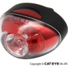 CATEYE ไฟท้ายกระพริบแคทอาย RAPID 1, TL-LD611, สีแดง (USB charge)