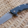 "RHK 3.5"" Hapoon Spanto Working Finish CPM20CV Blue&Black G-10"