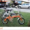 จักรยานพับได้เฟรมเหล็ก TIGER SMART ล้อ 16 นิ้ว