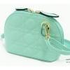 กระเป๋าสะพายทรงโค้ง ไซส์มินิน่ารัก สไตล์เกาหลี แต่งลายเย็บตารางDior