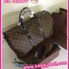 Louis Vuitton Monogram Macassar Canvas Keepall 45,50,55 **เกรดท๊อปมิลเลอร์** (Hi-End)