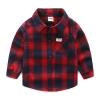 เสื้อเชิ้ตแขนยาวลายสก็อตใหญ่สีแดง แพ็ค 5 ชิ้น [size: 2y-3y-4y-5y-6y]