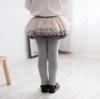 เลคกิ้งกางเกงกระโปรงสีเทา [size 2y-3y-4y-5y-6y]