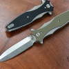 RHK Maximus Folding Dagger Stonewashed OD Green G-10