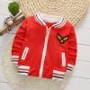 เสื้อกันหนาวสีแดง แพ็ค 2 ชิ้น [size 3y]