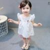 ชุดเซตเสื้อสีขาวลายหงส์+กางเกงสีชมพู [size 6m-1y-18m-2y]