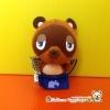 ตุ๊กตาพวงกุญแจแรคคูน Tanukichi (San-ei) หน้ามึนส์