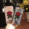 เคส tpu ลายลูกไม้ปักดอกกุหลาบ ซัมซุง A9 Proใช้ภาพรุ่นอื่นแทน)
