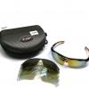 แว่นตานักปั่น S-FIGHT เลนส์ Polarized ,UV400 มี Clip on ,5 เลนส์และผ้าชามัวร์ ,S064