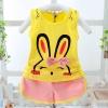ชุดเซตลายกระต่ายสีเหลือง แพ็ค 3 ชุด [size 6m-2y]