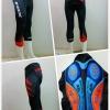กางเกงขาสี่ส่วน Proteam (เป้าเจล 16D พร้อมแถุบซิลิโคนปลายขา) Cycling Shorts Gel Pads 2017มีGIANT,BIANCHT,SKY,TREK