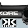 """KORE"" คอแฮนด์เสือหมอบ รุ่น Elite Road, ลบ 10 องศา, สีดำ, 90MM"