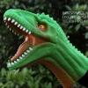 โมเดลถุงมือยาง หัวไดโนเสาร์ สีเขียว
