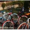 จักรยานทัวริ่ง ไฮบริดเฟรมอลู 24 สปีด Coyote Juillet