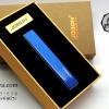 ไฟแช็คไฟฟ้า USB Jobon Smoking set สีน้ำเงิน เรียบ หรู