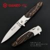มีดพับ Ganzo กานโซ่ รุ่น Ganzo G743-1-WD1 ด้ามลายไม้ ของแท้ 100%