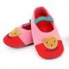 รองเท้าใส่ในบ้านลายหมีสีชมพู [size 16.5-19]