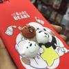 เคสนิ่มหน้าหมีนูน ซัมซุง Note 5(ใช้ภาพรุ่นอื่นแทน)