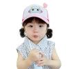 หมวกโรบอทสีชมพู แพ็ค 3 ชิ้น