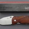มีดพับ Enlan M027 ด้ามไม้ ใบมีดหนาๆ (ของแท้100%)