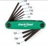 หกเหลี่ยมดอกจัน 3 ทาง Park Tool TWS-2,FOLD-UP TORX® COMPATIBLE WRENCH SET