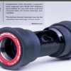 กะโหลก TOKEN TK-BB841PR-TBT (Sram,GXP Crankset) Tiramic