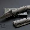 มีดพับ STRIDER รุ่น FA14 สีเทา Metallic ล้วน (OEM)