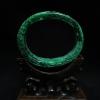 กำไลหยกพม่าเขียวจักรพรรดิ์แกะสลักลายผลไม้ (Burma jade bangle)