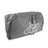 VINCITA B140AX กระเป๋าเดินทางสำหรับใส่จักรยาน (กระเป๋าใส่จักรยานแบบถอดล้อเดียว) สีดำและสีเทา
