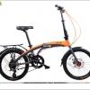 จักรยานพับได้ MIR THUNDER BOLT 16 SPEED เฟรมอลู ล้อแบร์ริ่ง 20 นิ้ว