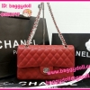 "Chanel Classic Flap Bags Caviar Leather Silver Hardware 10"" **เกรดท๊อปมิลเลอร์** (Hi-End)"
