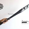 ไม้เบสบอลแบบเบา ขนาด 25 นิ้ว อุปกรณ์ออกกำลังกาย และ ป้องกันตัวในเวลาเดียวกัน สีดำ