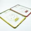 """เคสขอบโครเมียม tpu ลายการ์ตูน Samsung Galaxy Tab S2 8.0"""" T710 T715"""