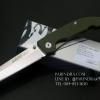 มีดพับ Land Knife GB 913G ด้ามสีเขียวทหาร (ของแท้) สวยงาม แกร่ง ทนทาน