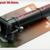 หลักอาน LA BICI LB-37 ดำขาว แดง ขนาด 27.2,30.9ม31.6