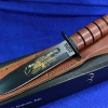 "KA-BAR USMC Pearl Harbor Fighting Knife 7"" 9109"