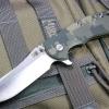 "RHK XM18 3.5"" Skinner 2-Tone Satin Blade ACU Camo G-10"