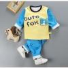 ชุดเซตกันหนาว cute fox แพ็ค 3 ชุด [size 2y-4y-6y]
